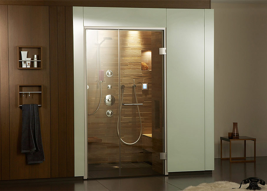 douche de vapeur hammam saunapur bains de sauna po le. Black Bedroom Furniture Sets. Home Design Ideas