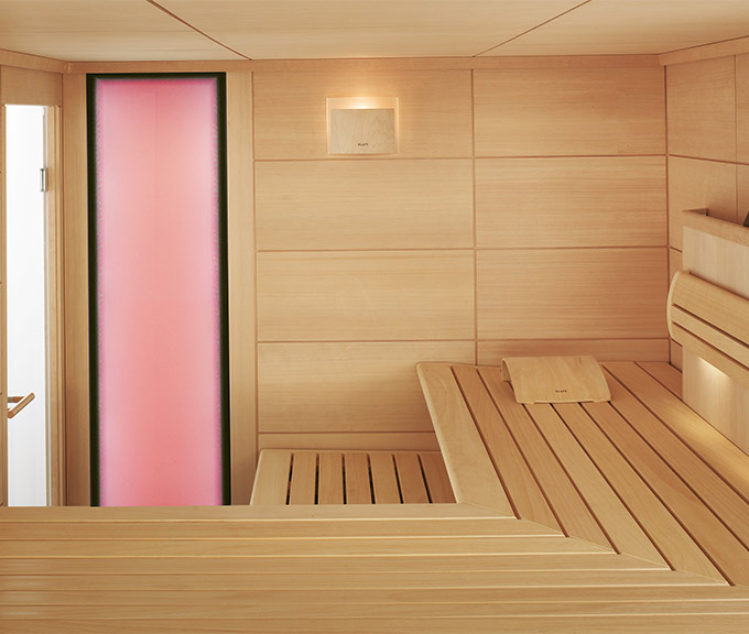 Options pour saunas