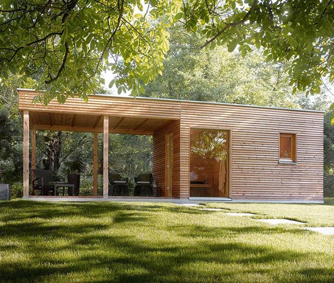 vente de saunas sauna contemporain sauna design. Black Bedroom Furniture Sets. Home Design Ideas
